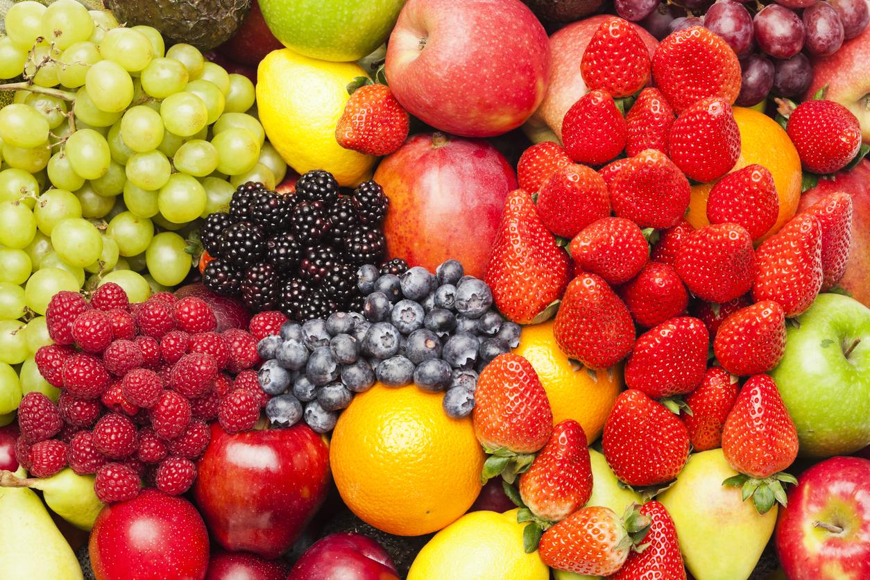 La frutta è il primo passo per una vita migliore