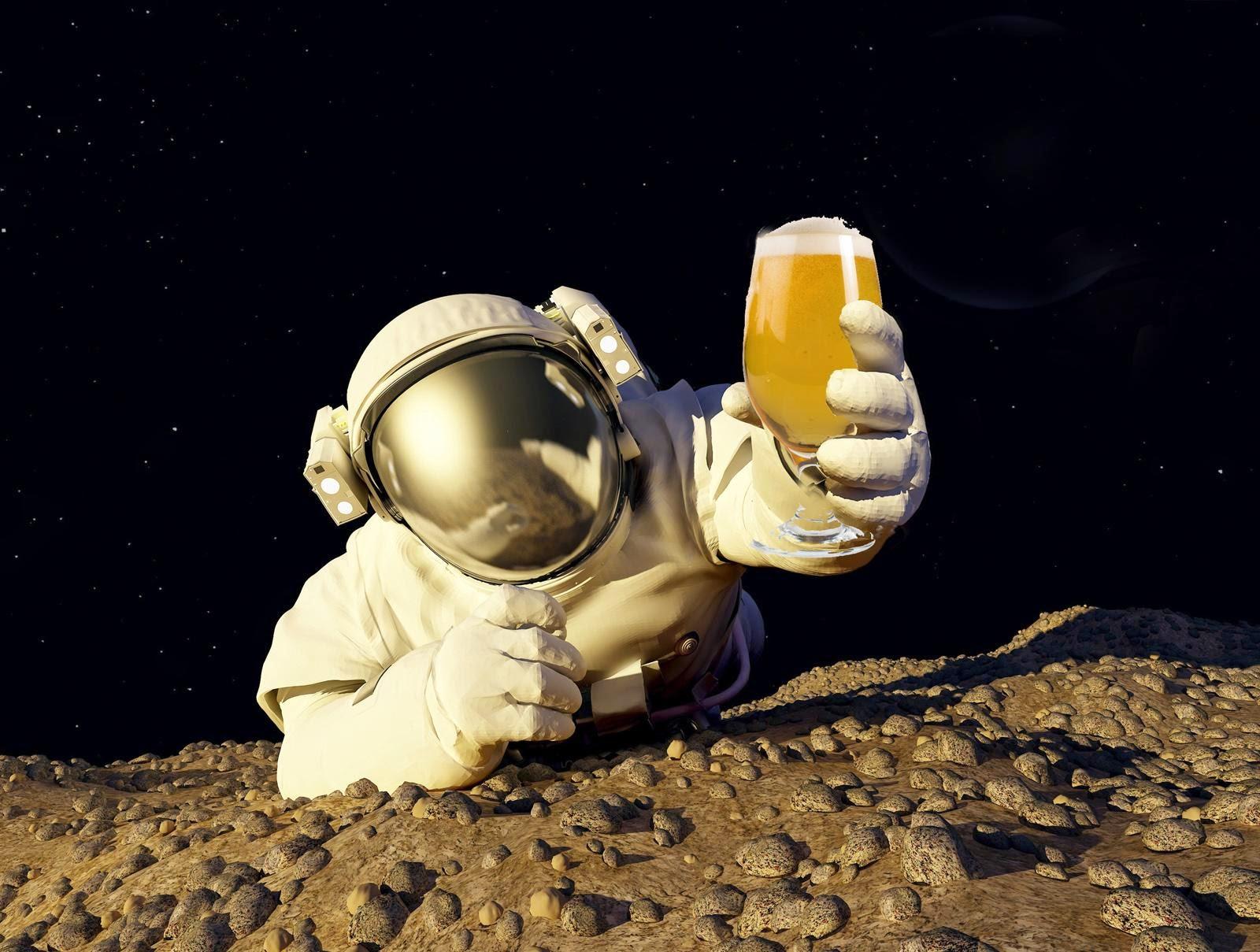 Birra, una passione spaziale